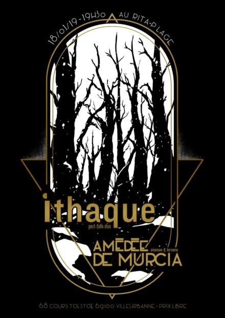 Affiche de concert «Ithaque»