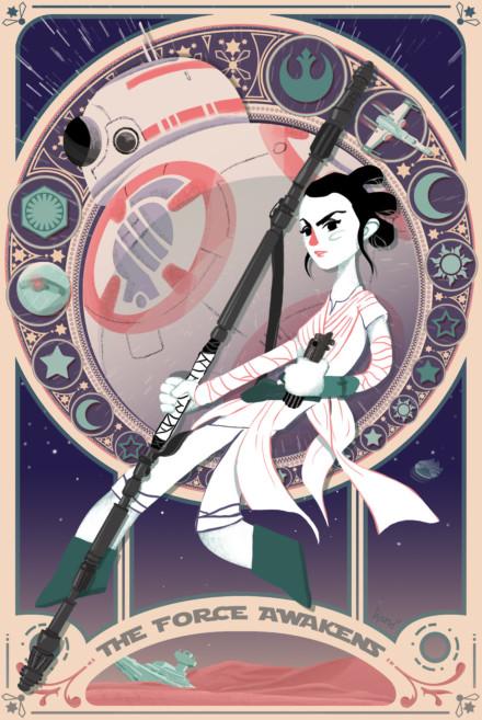 Fanart Star Wars 7 : The Force Awakens