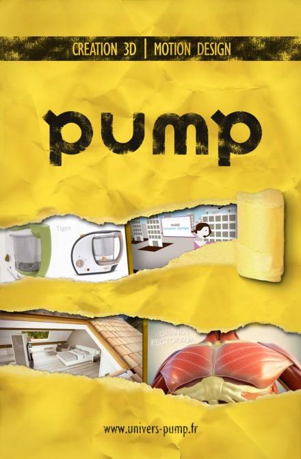 Affiches publicitaires Pump