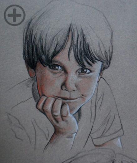 Portrait : Théo, 5 ans