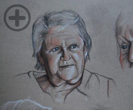 Portrait : Blanche, 85 ans